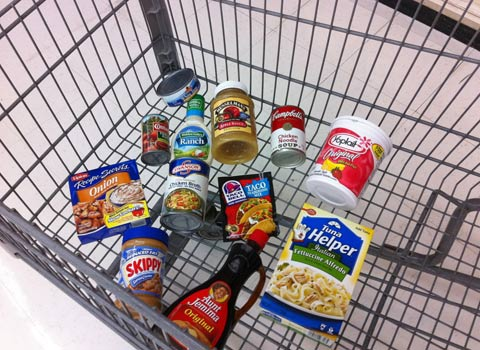Processed Foods Cart