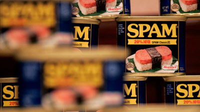Spam Processed Food